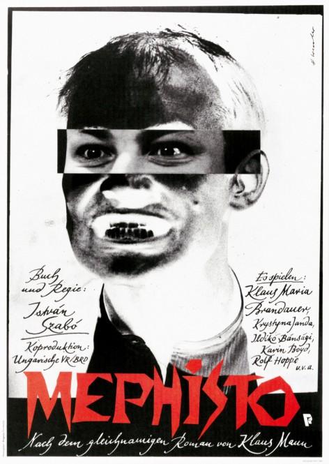 5.『メフィスト』(1981年/ハンガリー/サボー・イシュトヴァーン監督) ポスター:ホルスト・ヴェスラー(1981年) フィルムセンター所蔵 東