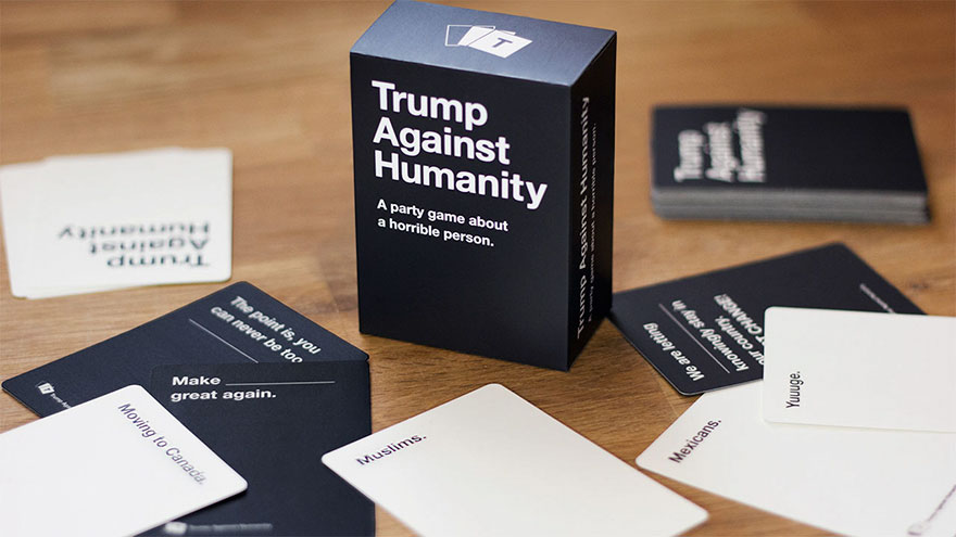 Trump against humanity party game sid lee collective 9