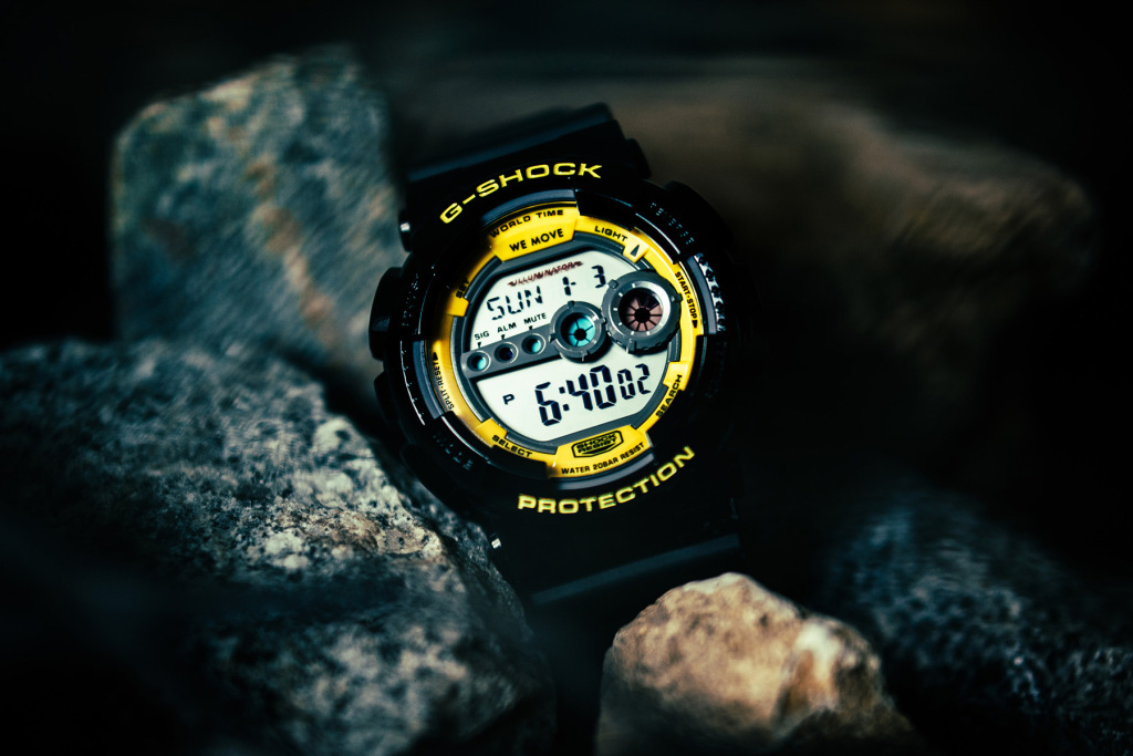G shock darker than wax collaboration 1