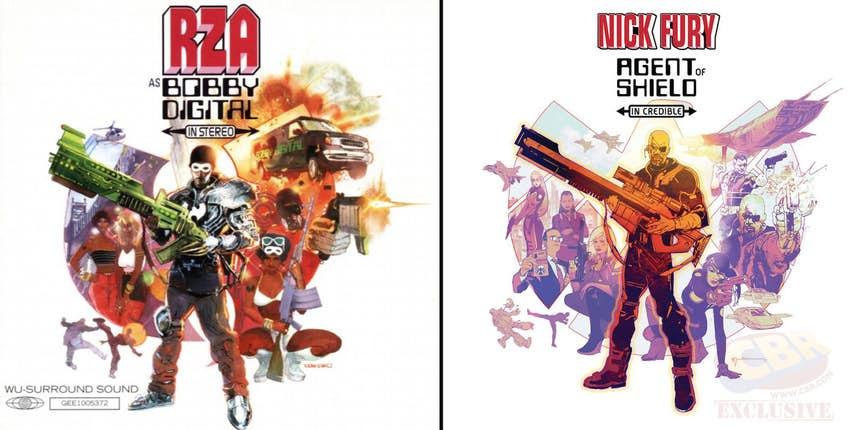 Nick Fury Bobby Digital