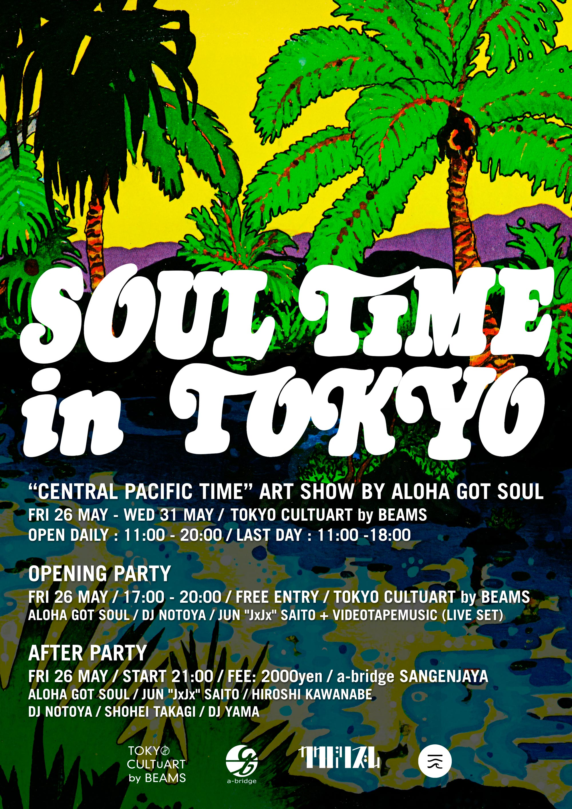 Soul Time In Tokyo