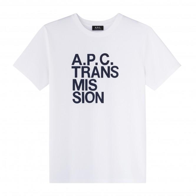 A.P.C. TRANSMISSION T-SHIRT㈰_10,000yen+税