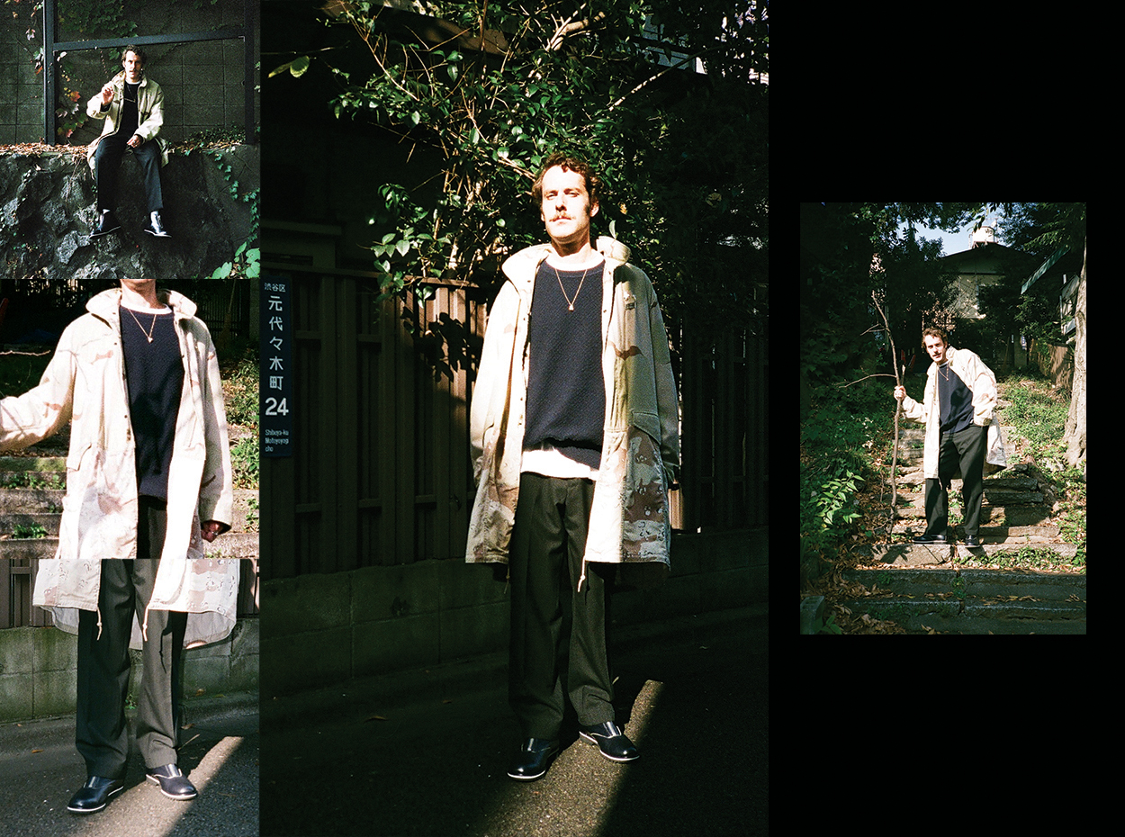 BLOHM×BACKDOOR Addict trousers1