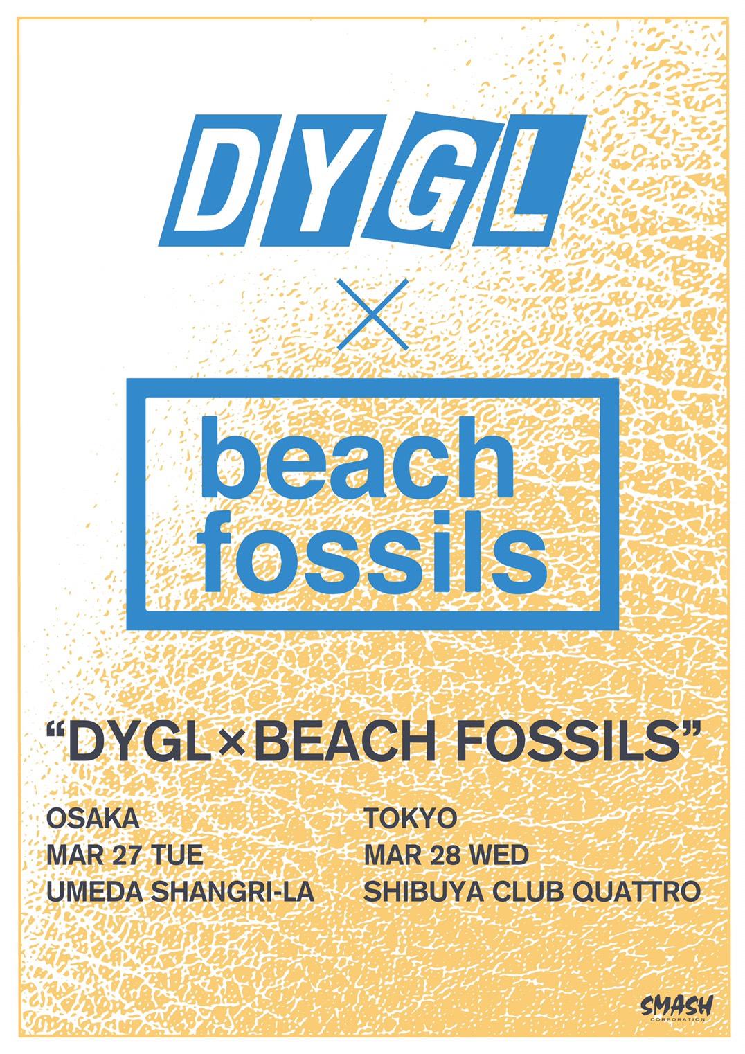DYGL×BEACH FOSSILS
