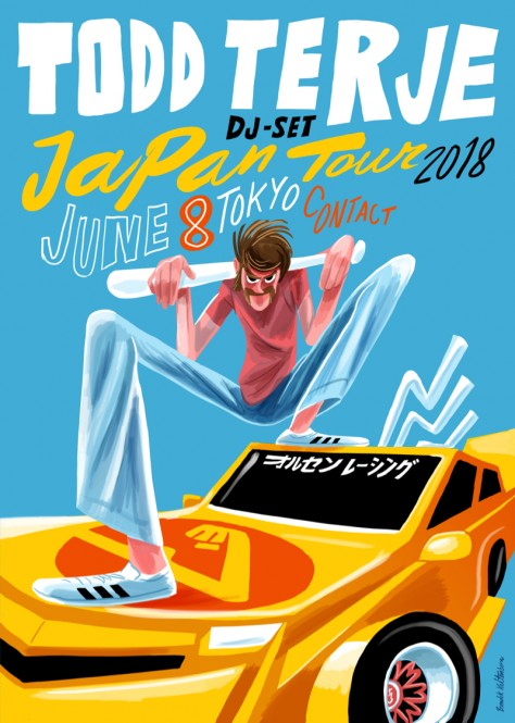 Terje Japan tour DJ 2018 Tokyo A2
