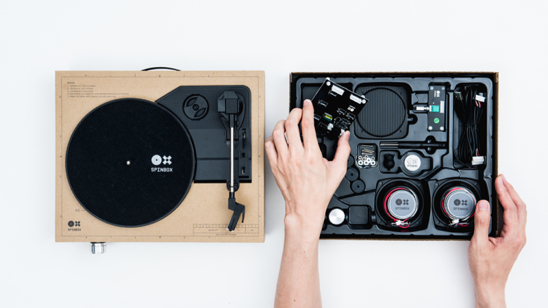 spinbox - A DIT Turntable kit